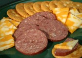 Buffalo Garlic Summer Sausage